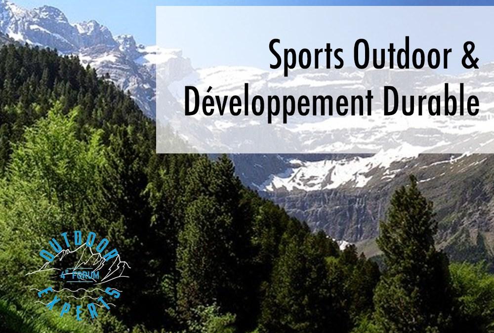 Sports outdoor & développement durable