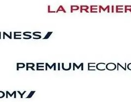 Air France padroniza nome de suas classes