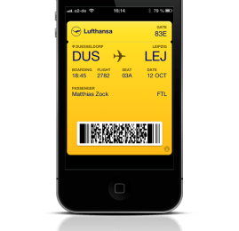 Lufthansa oferece check-in mobile no Brasil
