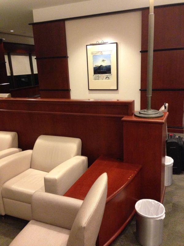 Sala VIP United Club - Aeroporto de Houston (IAH)