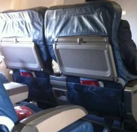 Atlanta(ATL) ✈ Cleveland(CLE) – Primeira Classe Doméstica – DC9-50