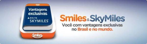 Smiles parceria Skymiles