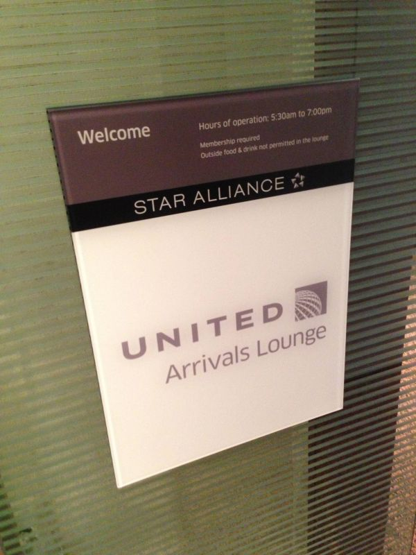 United Club Arrival Lounge Chicago