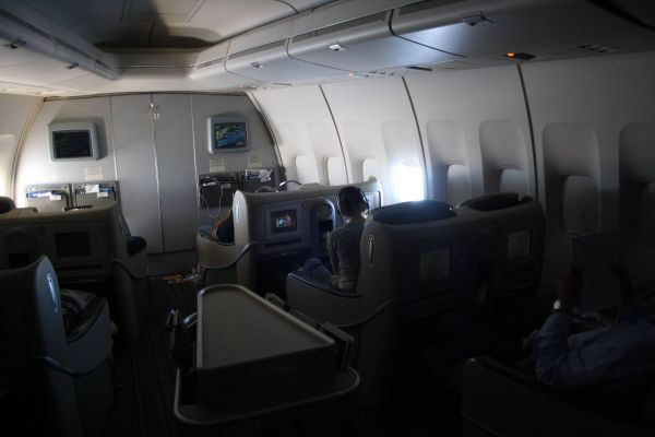 Air France Business Class 747