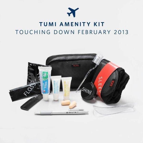 A necessaire da Tumi conterá os produtos Malin+Goetz
