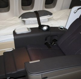 Primeira Classe da Lufthansa no Boeing 747 (New First Class)