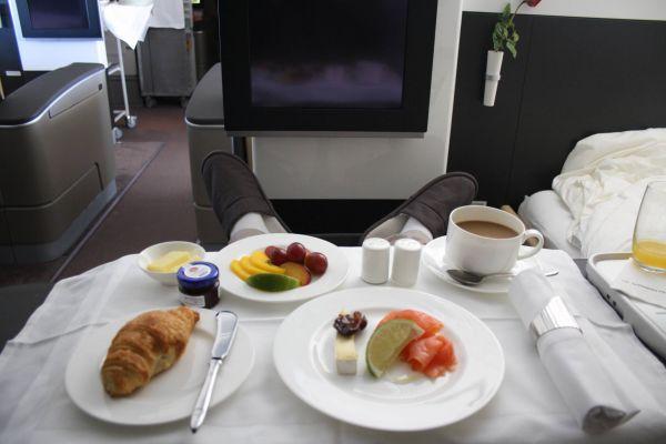 Lufthansa Primeira Classe 747