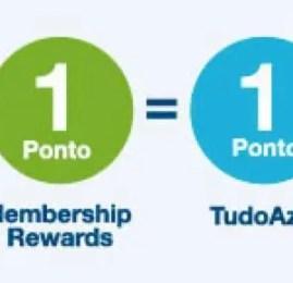 TudoAzul é o mais novo parceiro do Membership Rewards