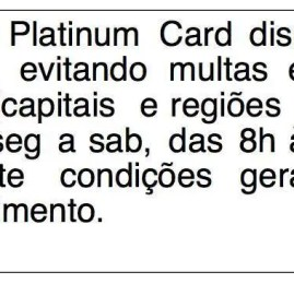 The Platinum Card da American Express passa a oferecer Pague-Contas