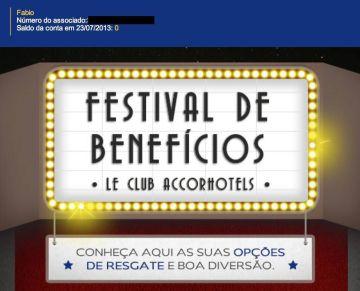 le club festival beneficios