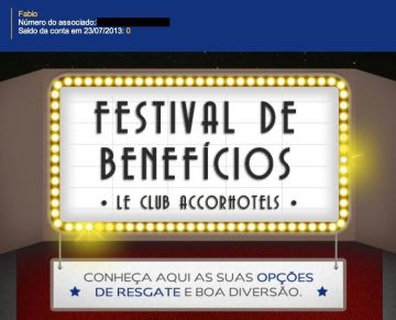 le club festival beneficios