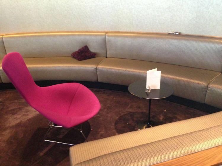 Sala VIP Virgin Atlantic Clubhouse no Aeroporto de Nova York - JFK