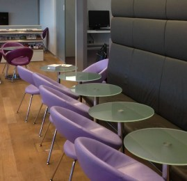 Sala VIP Austrian Airlines Senator Lounge no Aeroporto de Vienna
