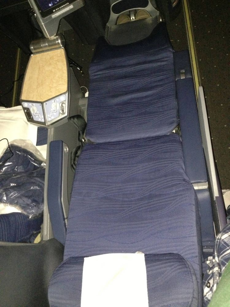 US Airways Envoy Business Class 767