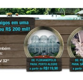 """Promoção da GOL """"Quero uma ilha"""" vai sortear viagem e prêmio de R$200 mil"""