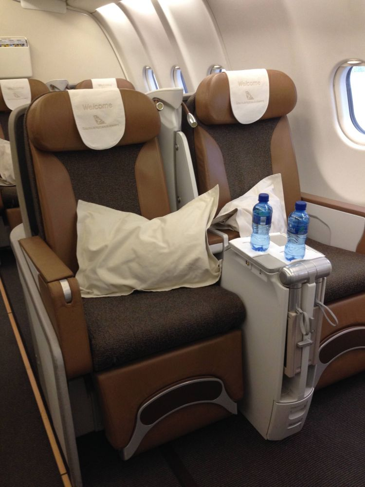 south african business class executiva a330