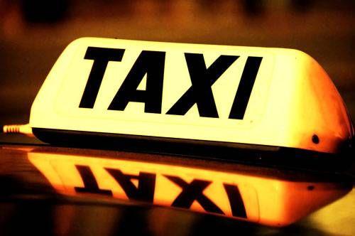 taxi sinal