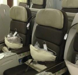 Classe Executiva da Air France no Boeing 777-300ER