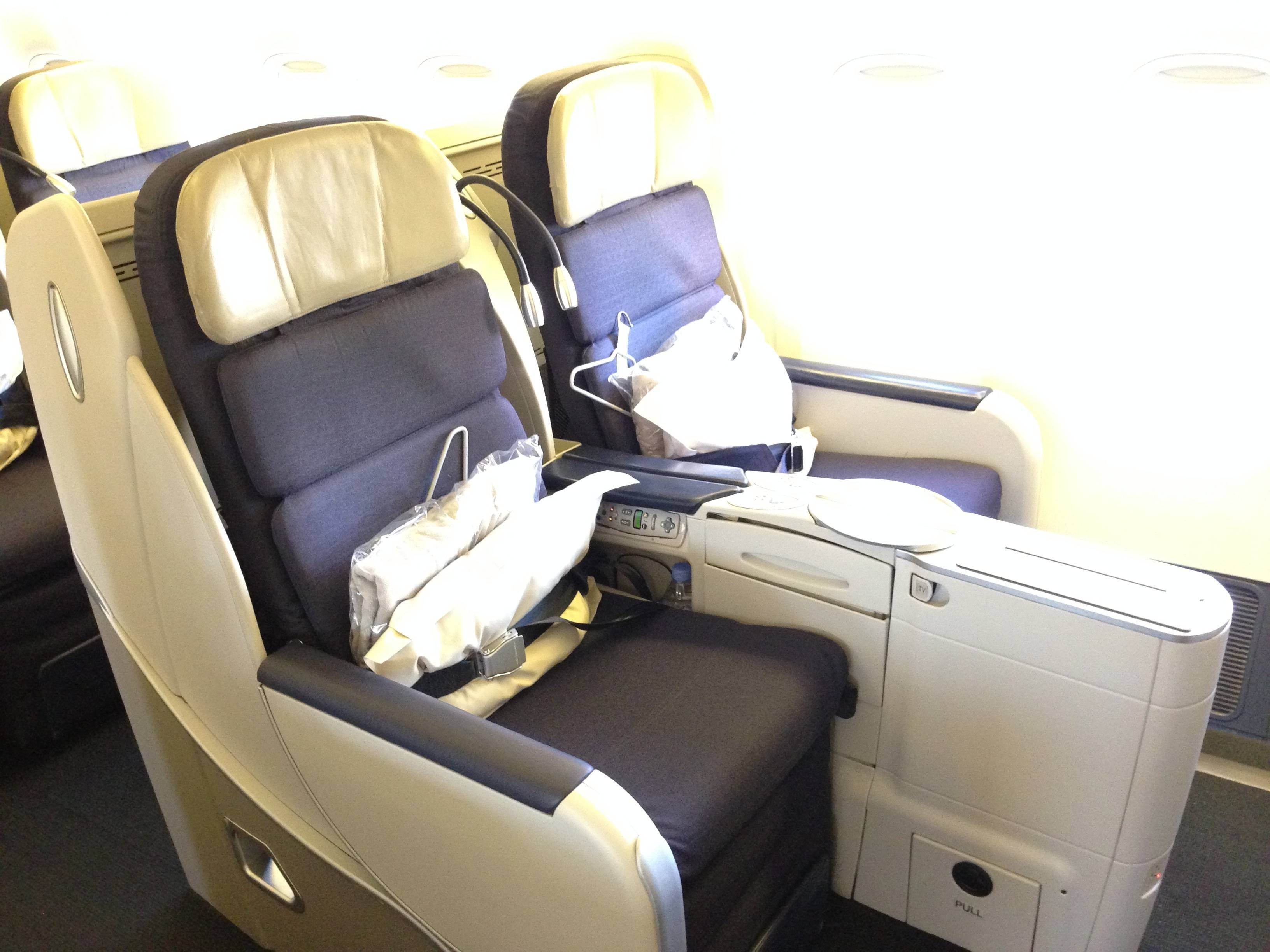 Classe Executiva Affaires Air France B777-200ER