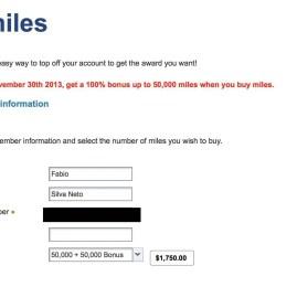 VOLTOU ! Compre milhas da US Airways e ganhe 100% de bônus