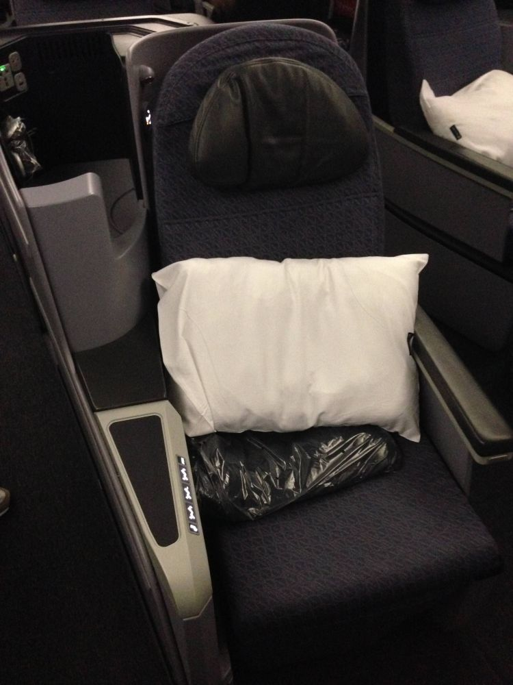 Classe Executiva da United no Boeing 767-400ER
