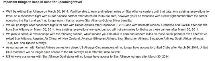 us airways star alliance