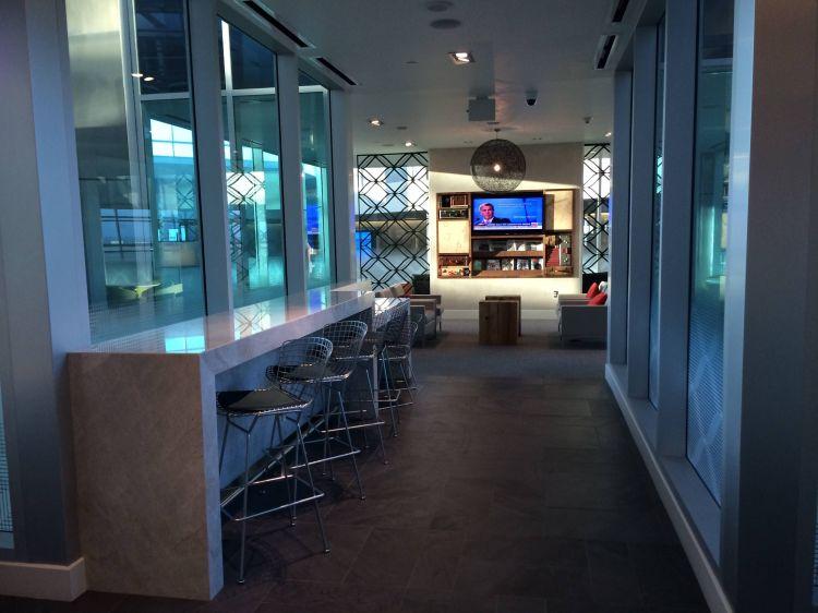 Sala VIP Centurion Lounge Aeroporto Dallas Airport