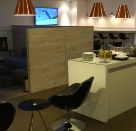 Swiss First Class Lounge no Aeroporto de Guarulhos (GRU)