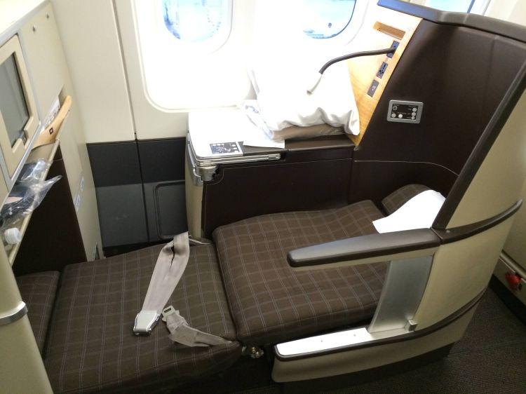 Swiss Classe Executiva A340 Business Class