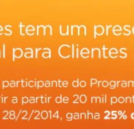 Smiles faz promoção e dá 25% de bônus nas transferências do Itaú