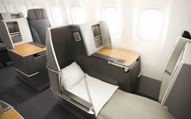 american airlines b767-300 executiva new business class-3
