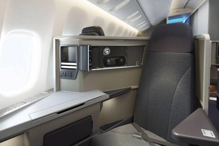 new aa business class 777-200 executiva