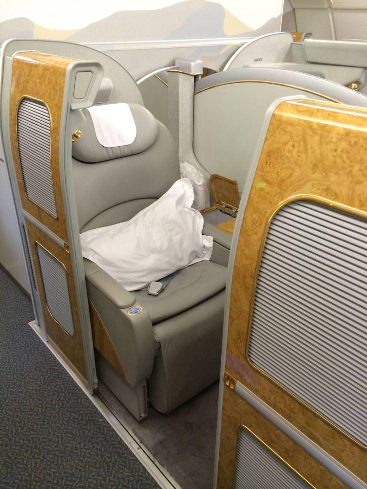 Primeira Classe Emirates Suites A380