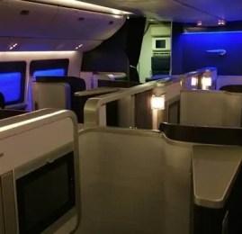 Primeira Classe da British Airways no Boeing 777-300ER