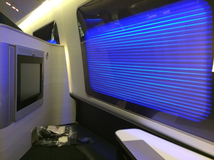 British Airways First Class Primeira Classe Boeing 777-300ER