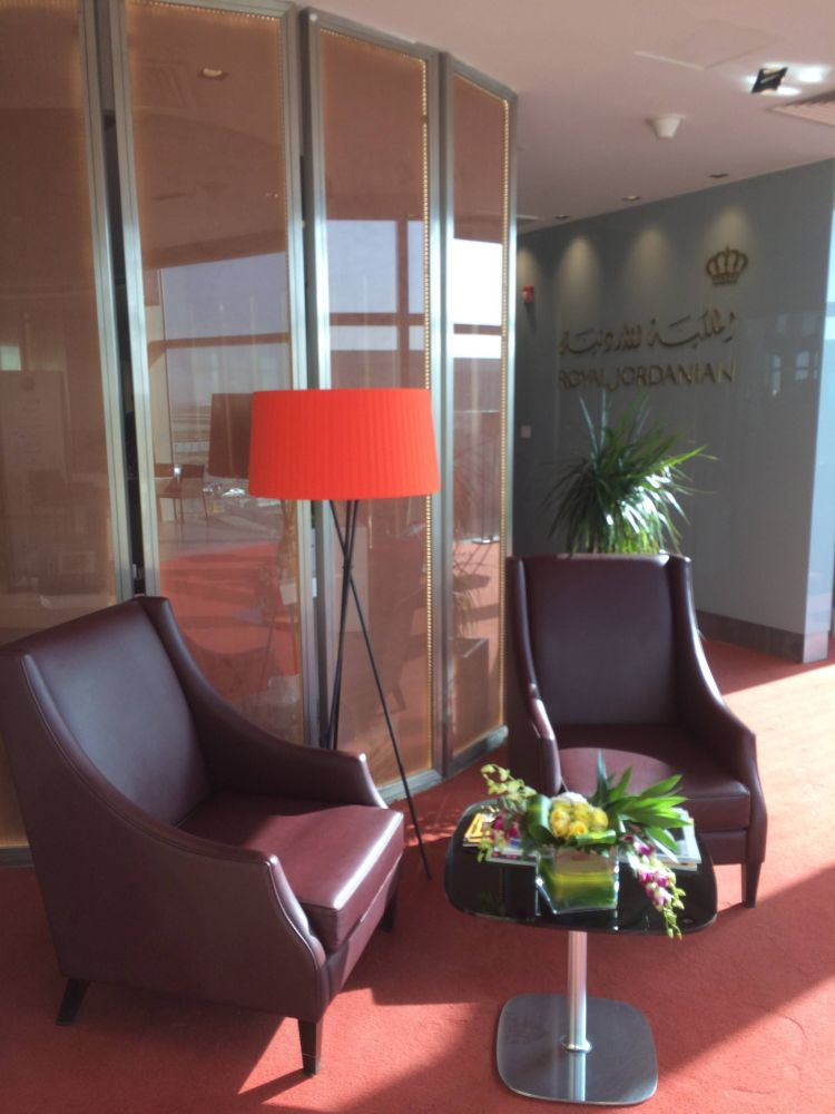 Crown Lounge Royal Jordanian Amman