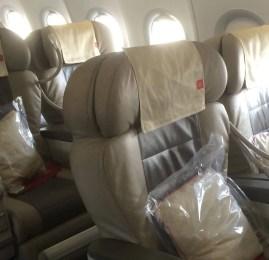 Classe Executiva da Royal Jordanian no A320