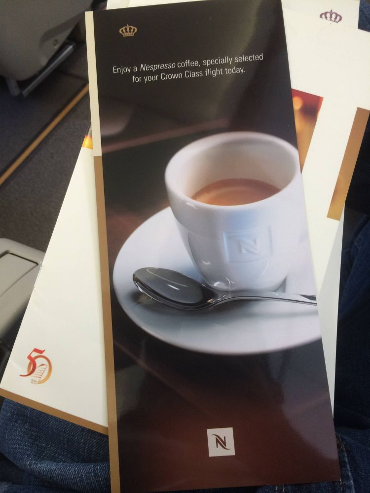 Royal Jordanian A320 Business Class