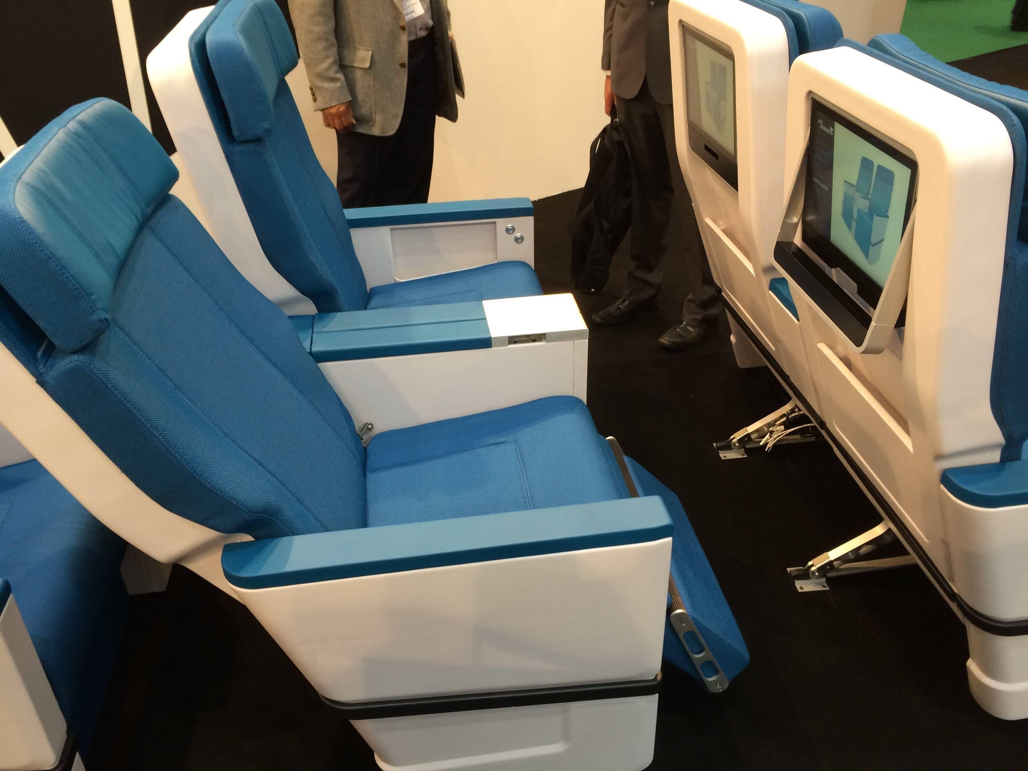 aix2014 - passageirodeprimeira aircraft interior expo