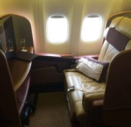 Primeira Classe da Singapore Airlines no Boeing 777-300ER