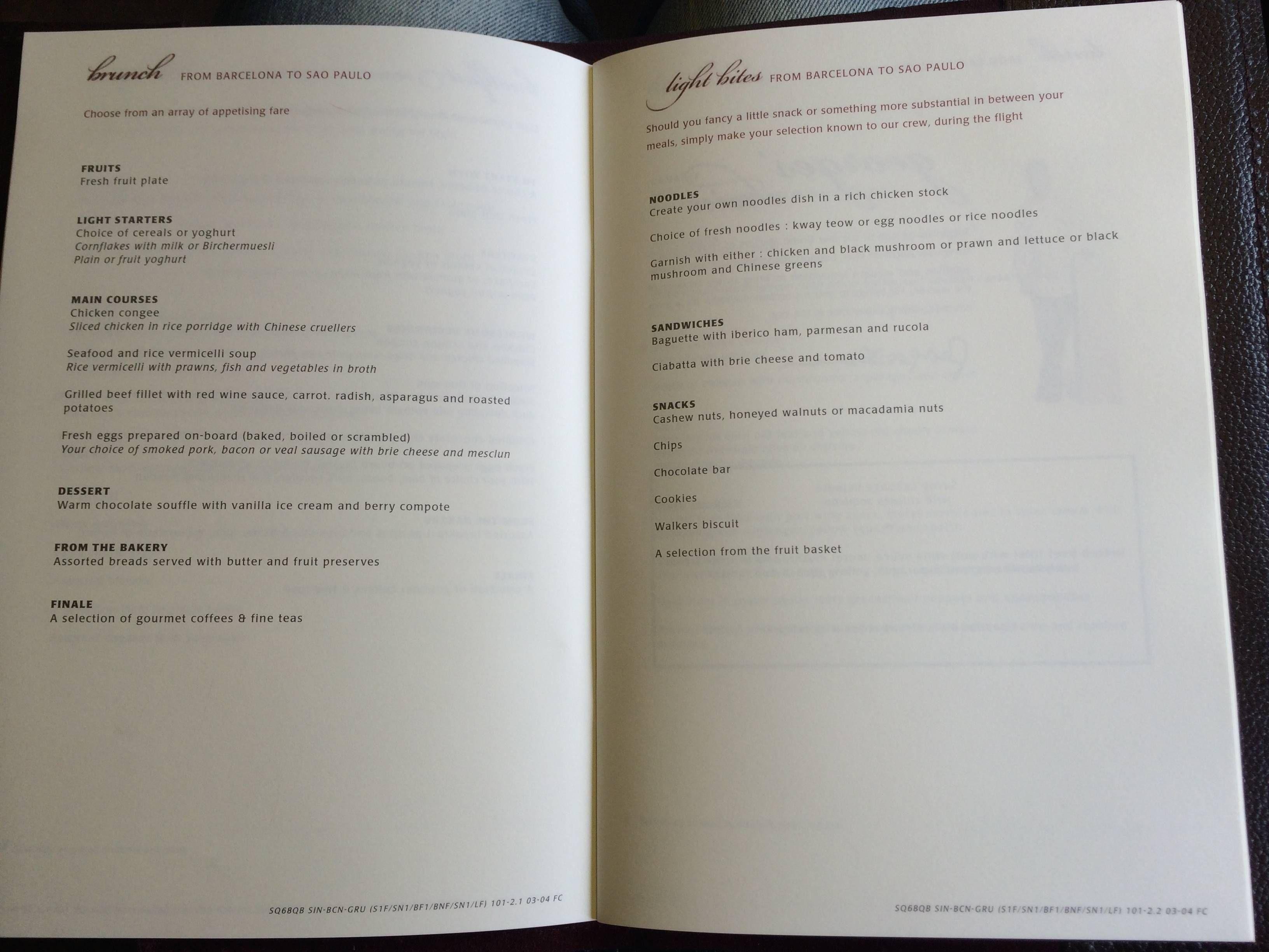 Singapore Airlines First Class Primeira Classe - passageirodeprimeira