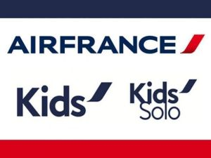 air france kids solo