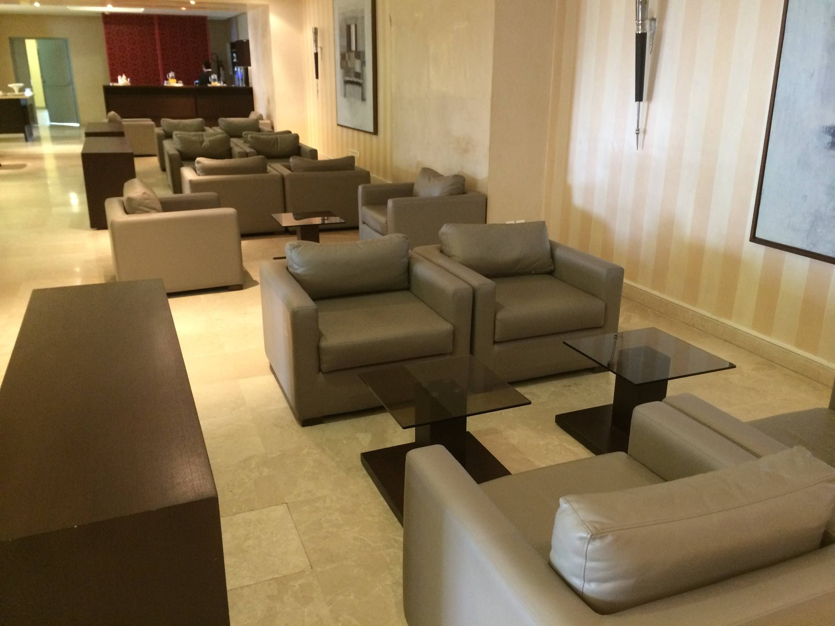 Royal Air Maroc Sala Vip Casablanca Atlas Lounge