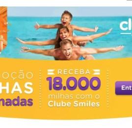 Nova promoção do Clube Smiles dá milhas em dobro