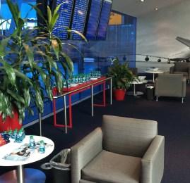 Sala VIP Delta Sky Club no Aeroporto de Nova York (JFK)
