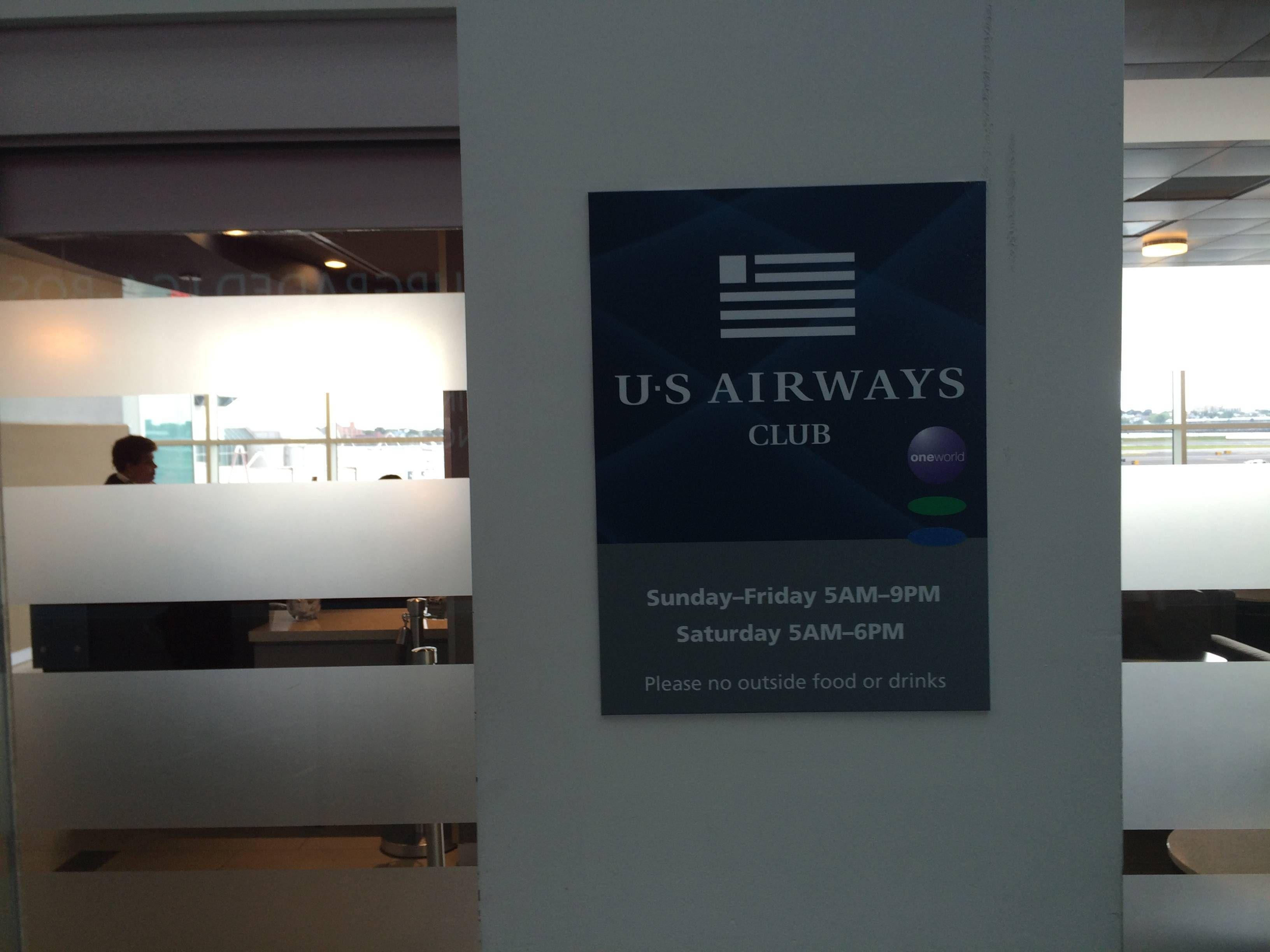 us airways club la guardia passageirodeprimeira