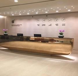 Controle de Passaporte e Qatar Airways Arrival Lounge – Aeroporto de Doha (DOH)