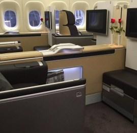 Primeira Classe da Lufthansa no B747-8