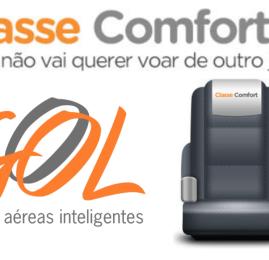 GOL investe na ampliação da Classe Comfort para todos os destinos internacionais