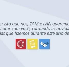 TAM faz resumo de 2014 e anuncia novidades para 2015